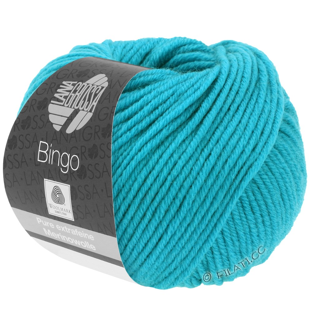 Lana Grossa BINGO  Uni/Melange | 133-turquoise