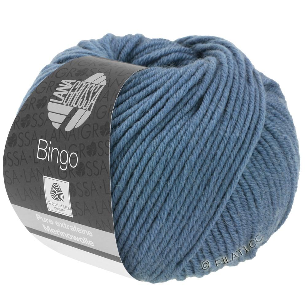Lana Grossa BINGO  Uni/Melange/Print | 134-bleu pigeon