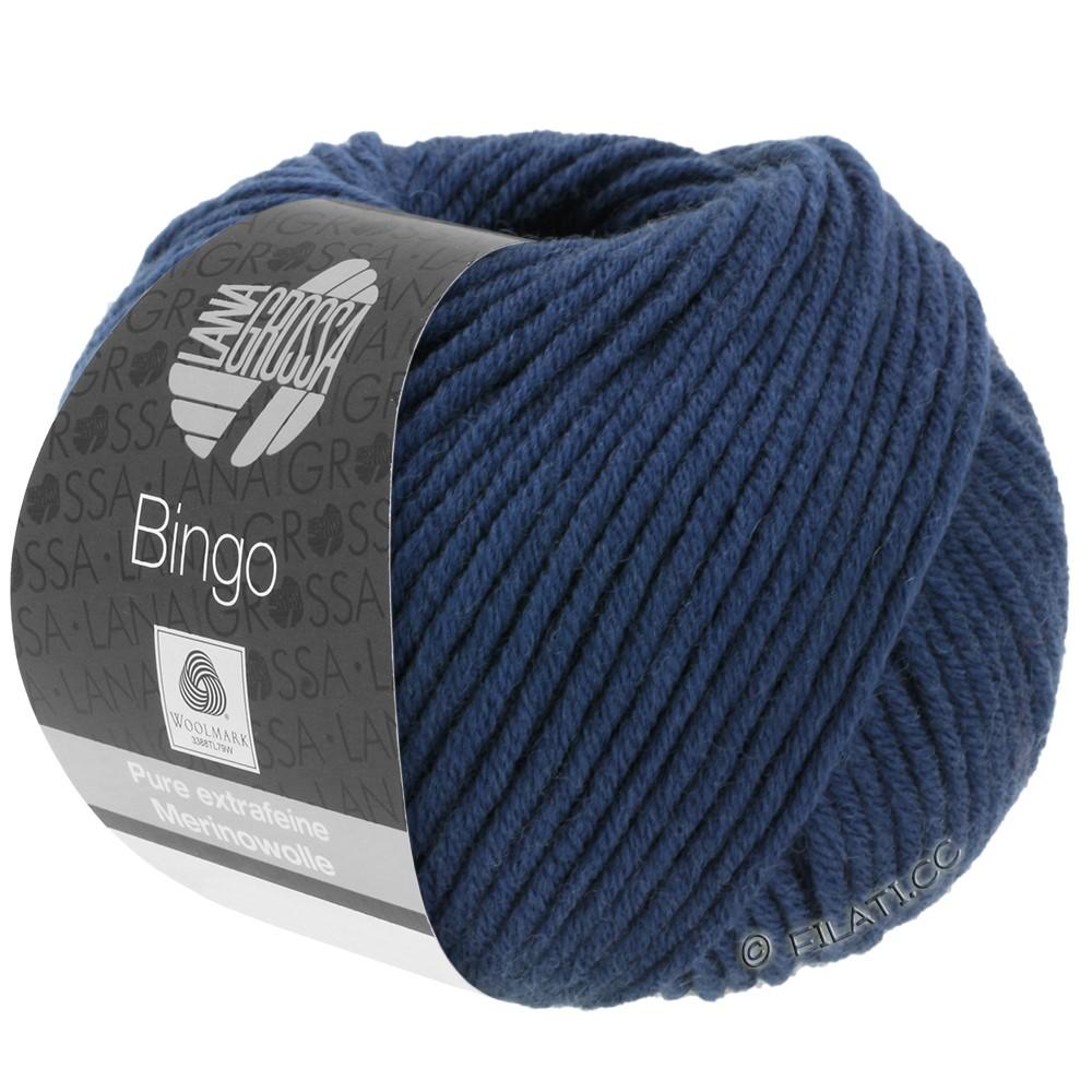 Lana Grossa BINGO  Uni/Melange/Print | 147-bleu foncé