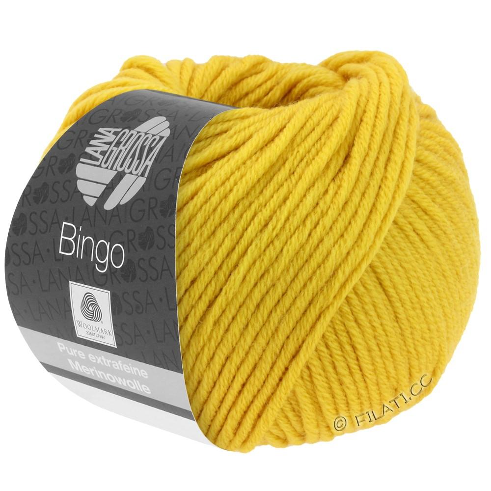 Lana Grossa BINGO  Uni/Melange/Print | 154-jaune safran