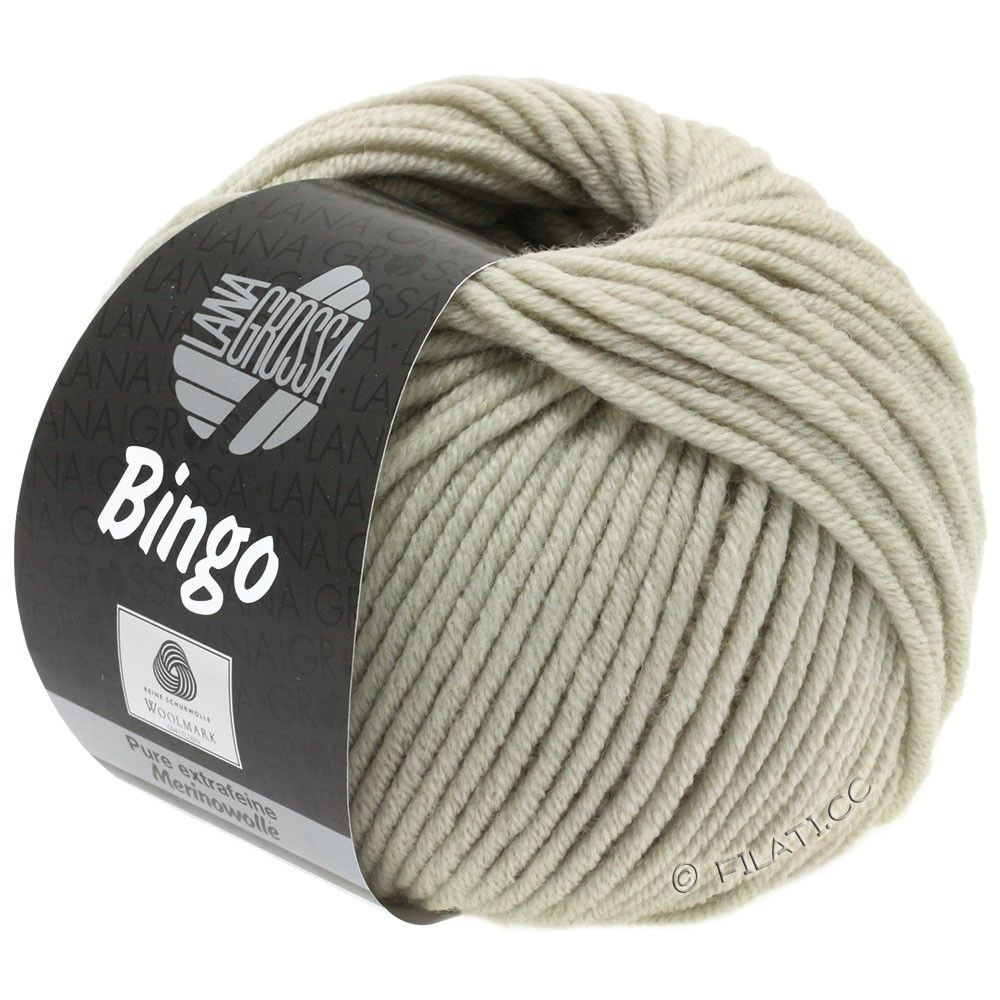 Lana Grossa BINGO  Uni/Melange | 175-beige gris
