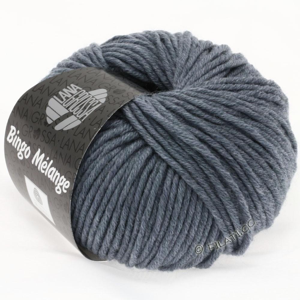 Lana Grossa BINGO  Uni/Melange/Print | 204-bleu gris chiné