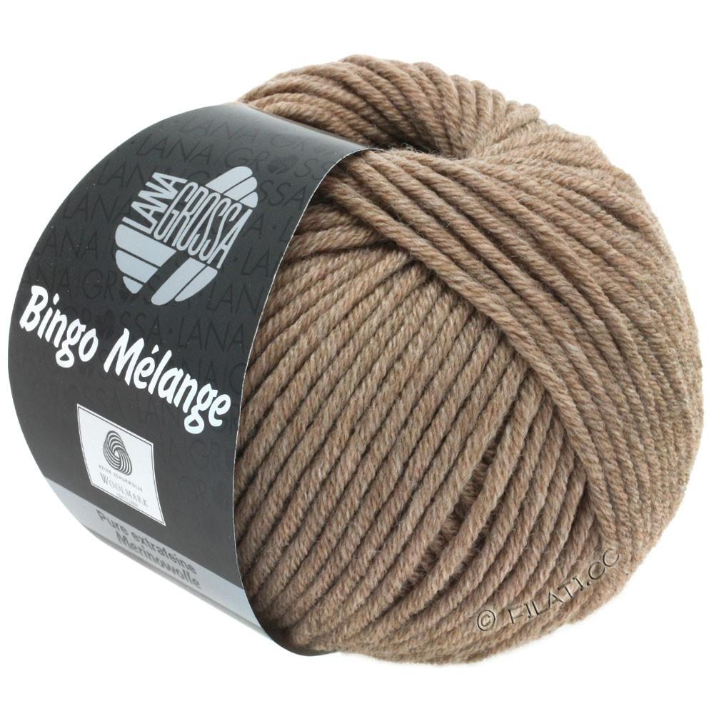 Lana Grossa BINGO  Uni/Melange/Print | 239-brun chiné