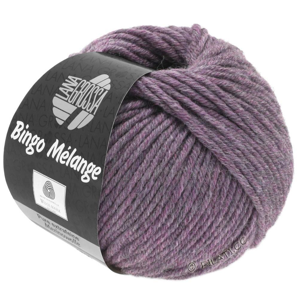 Lana Grossa BINGO  Uni/Melange | 245-violette antique chiné