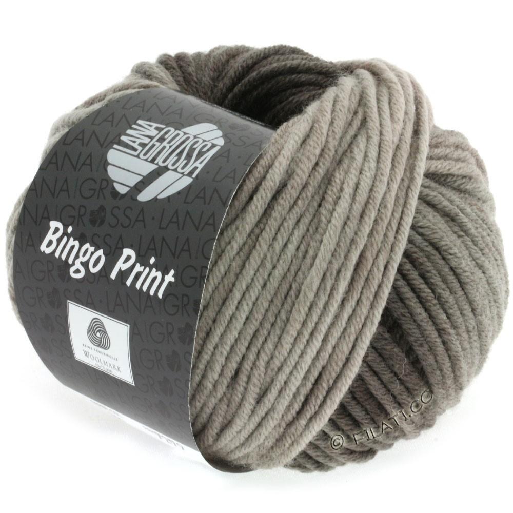 Lana Grossa BINGO Print | 607-grège/brun noir