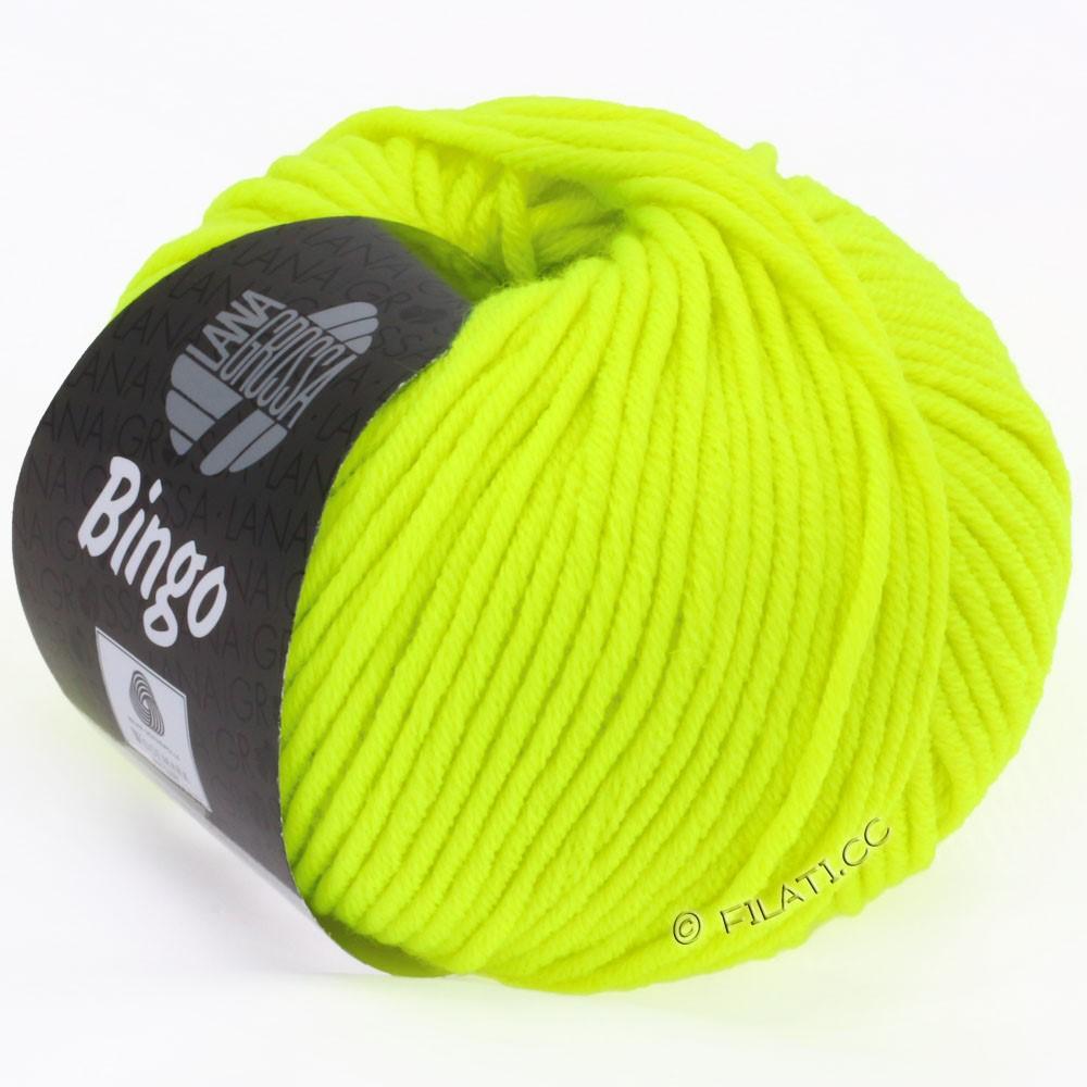 Lana Grossa BINGO  Uni/Melange/Print | 701-jaune néon