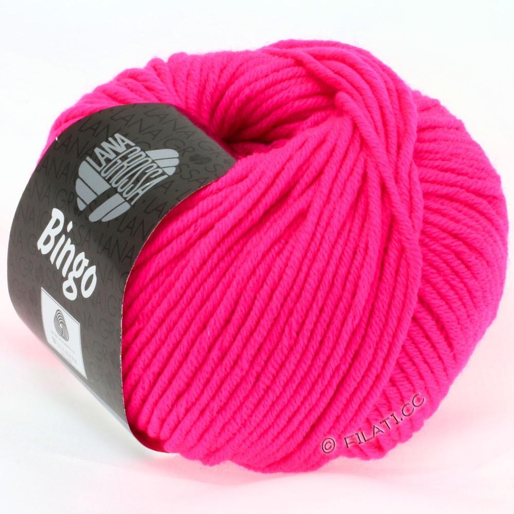 Lana Grossa BINGO  Uni/Melange/Print | 706-rose vif néon