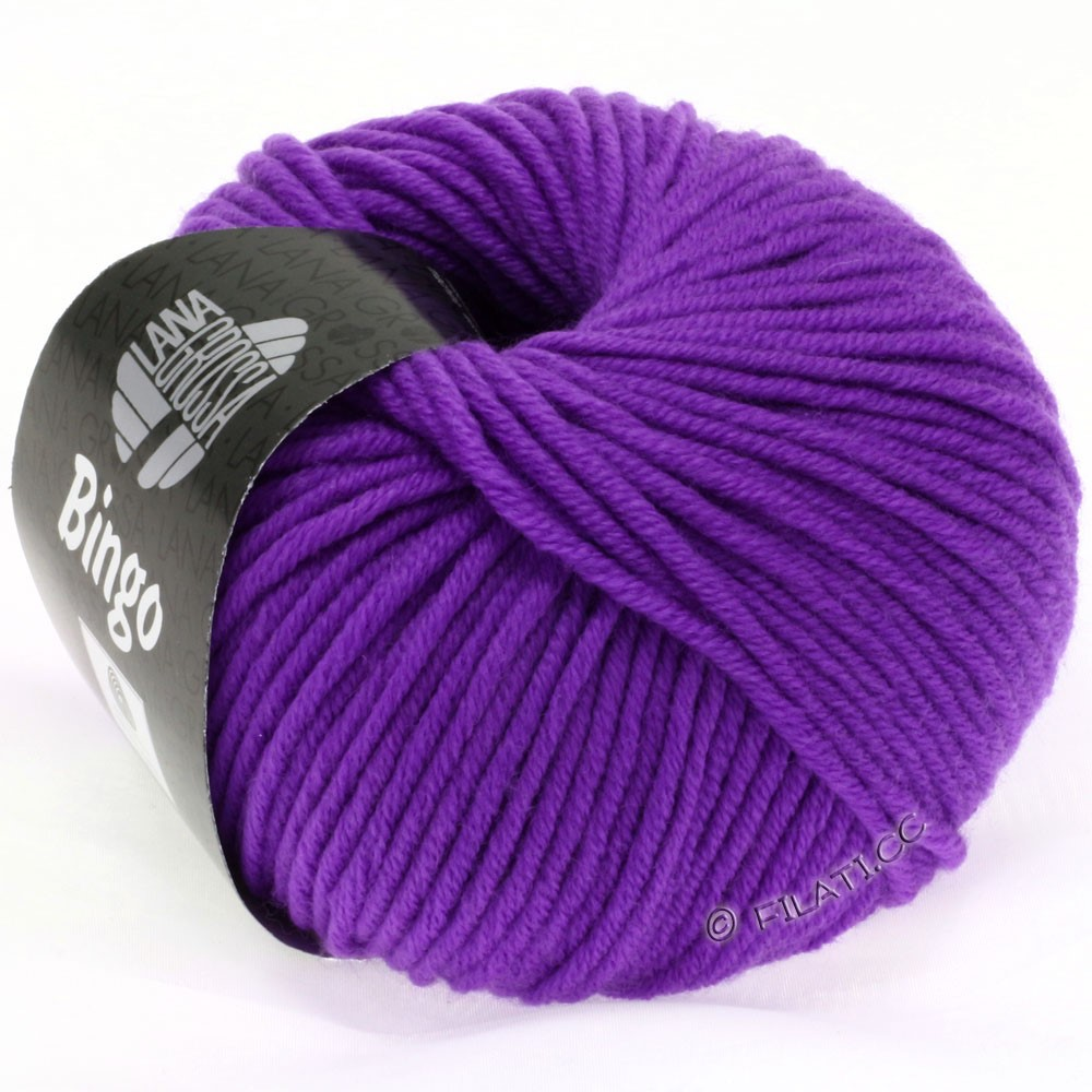 Lana Grossa BINGO  Uni/Melange | 710-violet néon