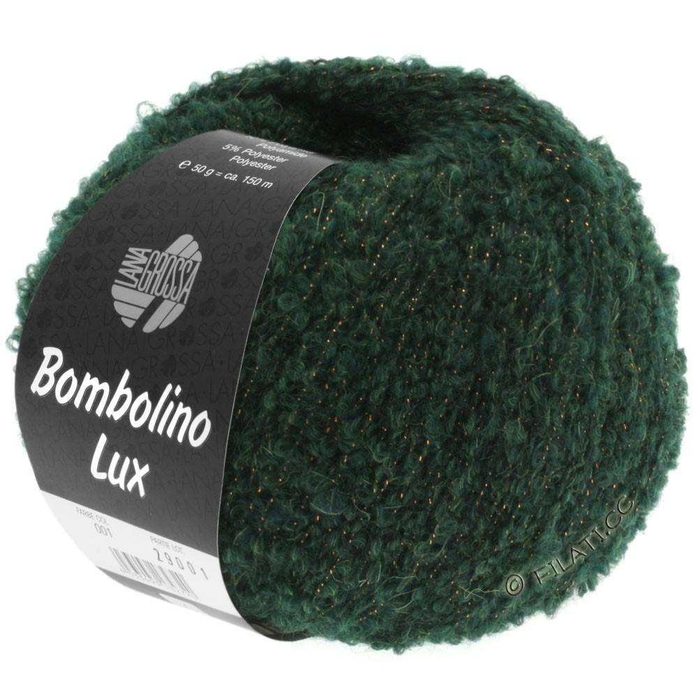 Lana Grossa BOMBOLINO Lux   010-sapin/cuivre