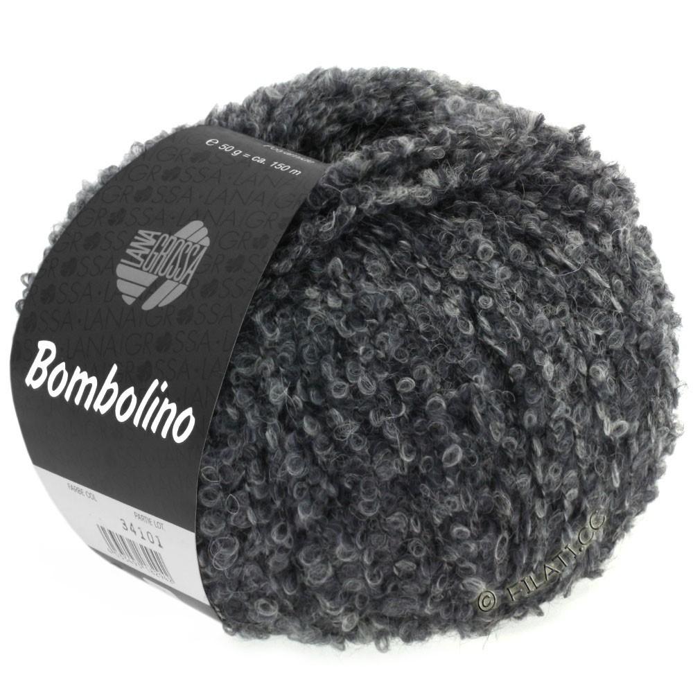Lana Grossa BOMBOLINO Degradé | 105-gris clair/gris/anthracite