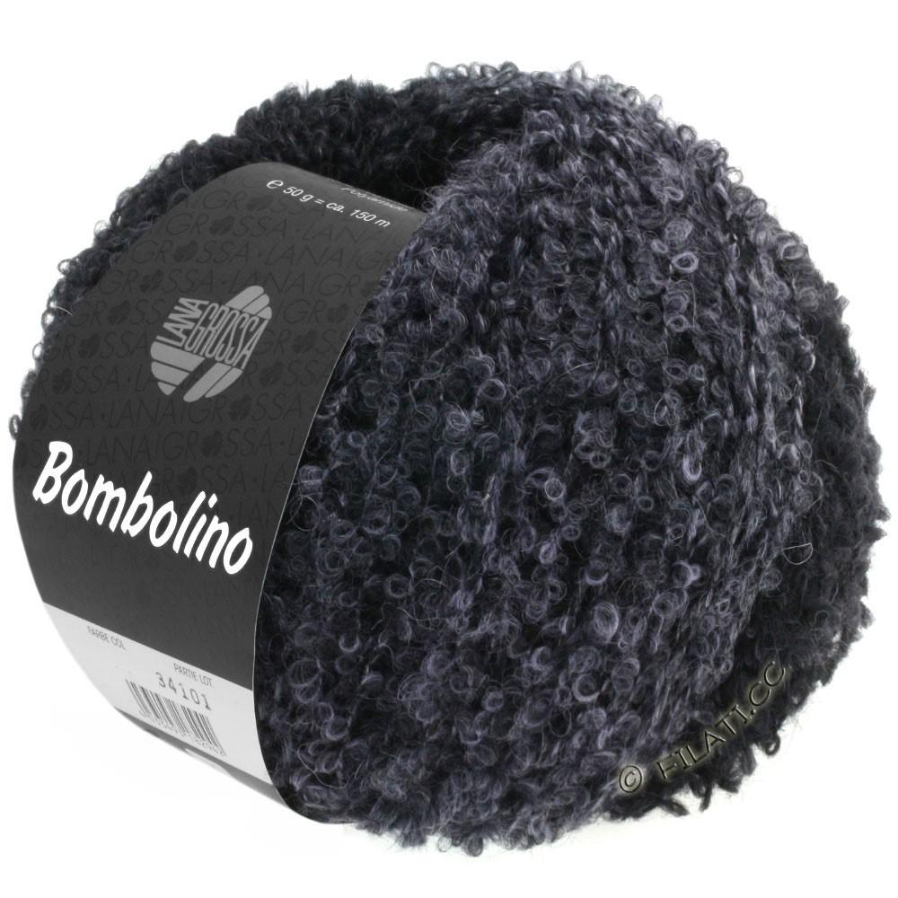 Lana Grossa BOMBOLINO Degradé | 110-gris clair/anthracite/noir