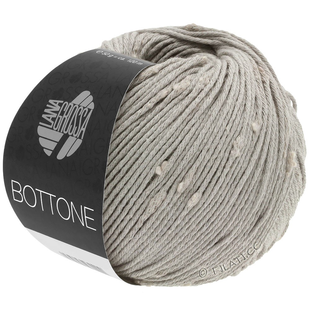 Lana Grossa BOTTONE | 02-gris clair