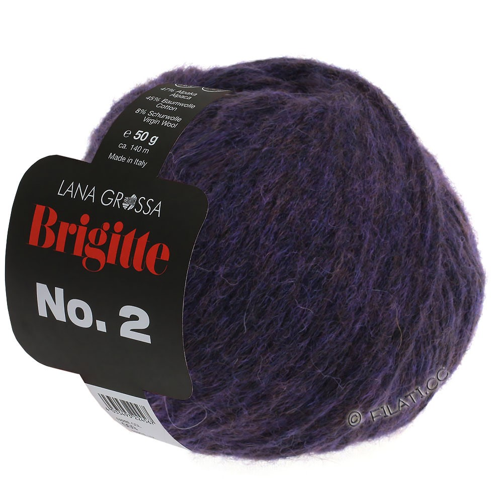 Lana Grossa BRIGITTE NO. 2 | 07-aubergine
