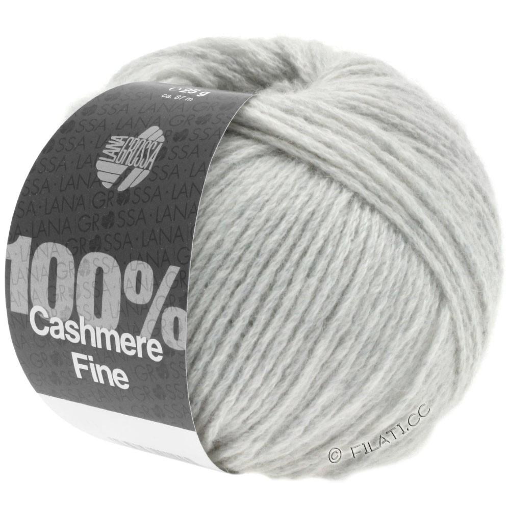 Lana Grossa 100% Cashmere Fine | 01-gris argent