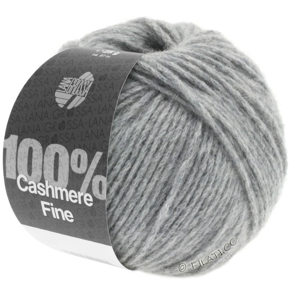 Lana Grossa 100% Cashmere Fine | 03-gris clair