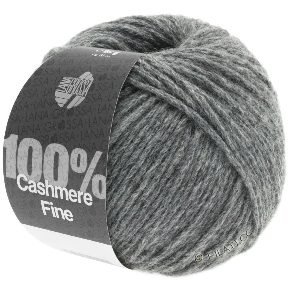 Lana Grossa 100% Cashmere Fine | 04-gris foncé