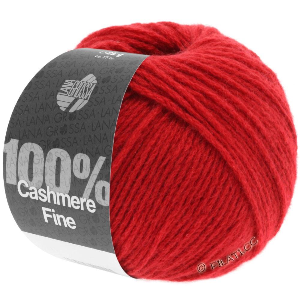 Lana Grossa 100% Cashmere Fine | 08-rouge