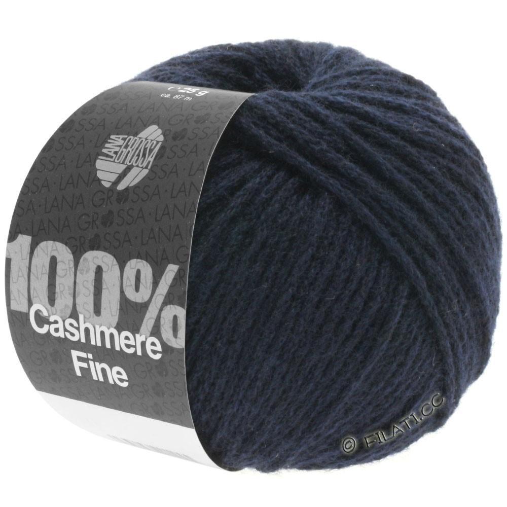 Lana Grossa 100% Cashmere Fine | 09-bleu nuit