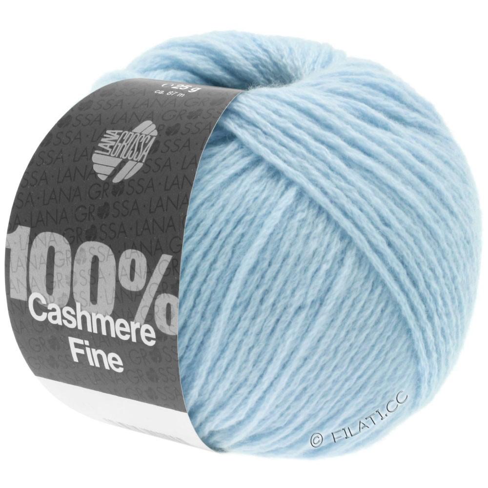 Lana Grossa 100% Cashmere Fine | 12-bleu clair