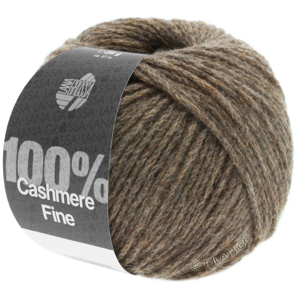 Lana Grossa 100% Cashmere Fine | 14-brun gris