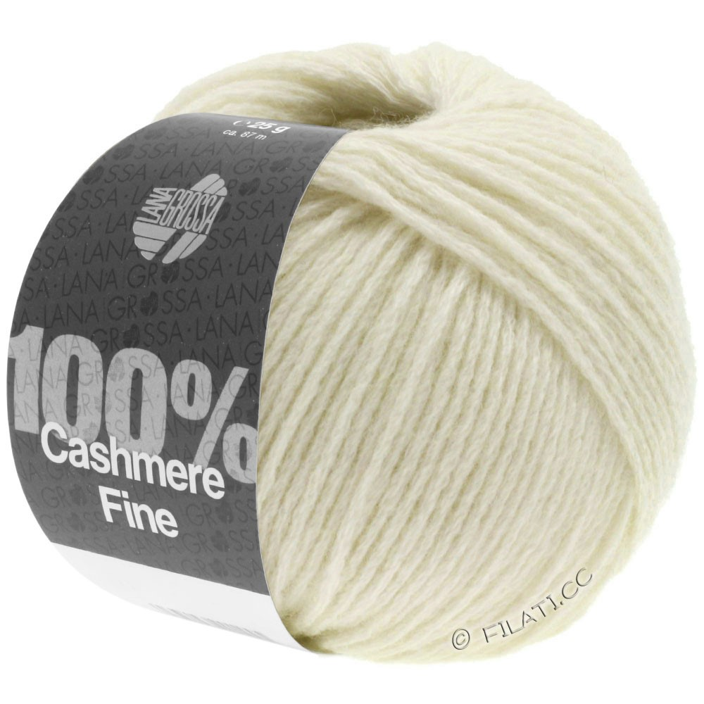 Lana Grossa 100% Cashmere Fine | 16-écru