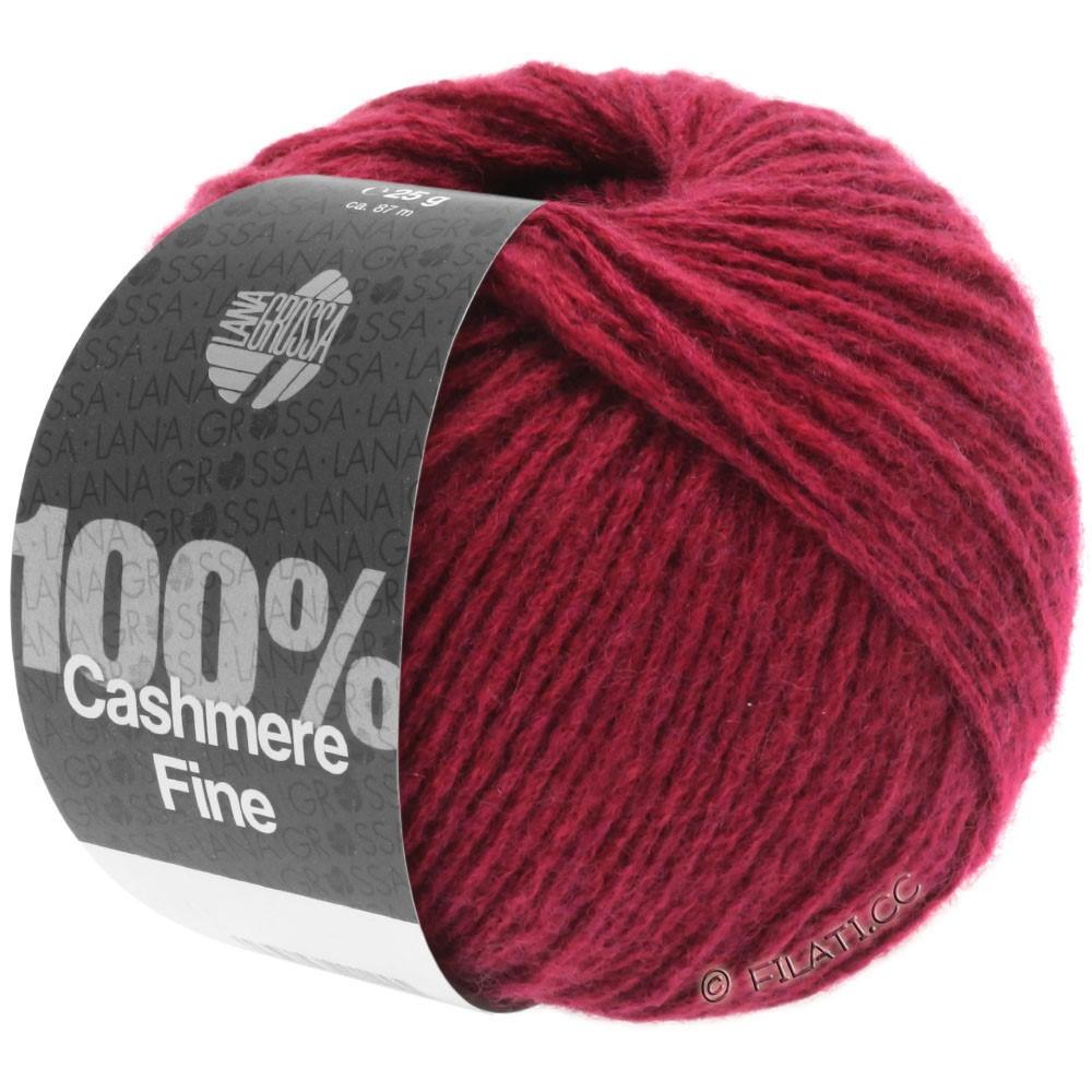 Lana Grossa 100% Cashmere Fine | 22-rouge vin