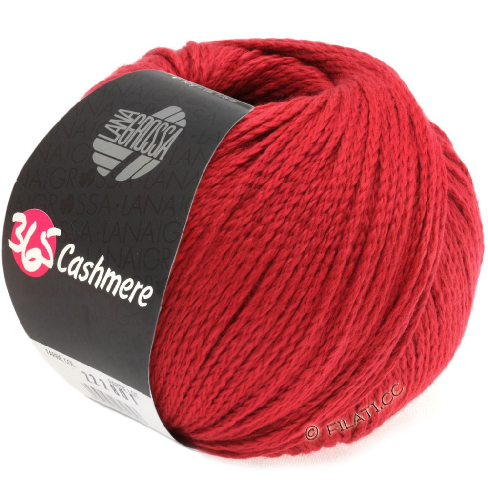 Lana Grossa 365 CASHMERE | 07-rouge rubis