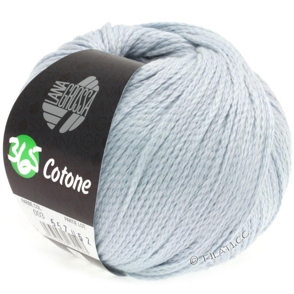 Lana Grossa 365 COTONE | 03-bleu tendre