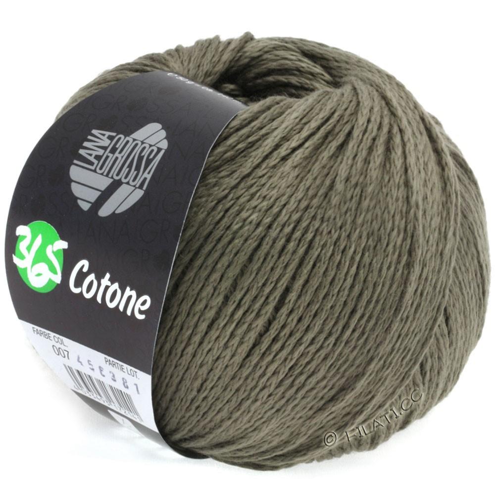 Lana Grossa 365 COTONE | 07-brun gris