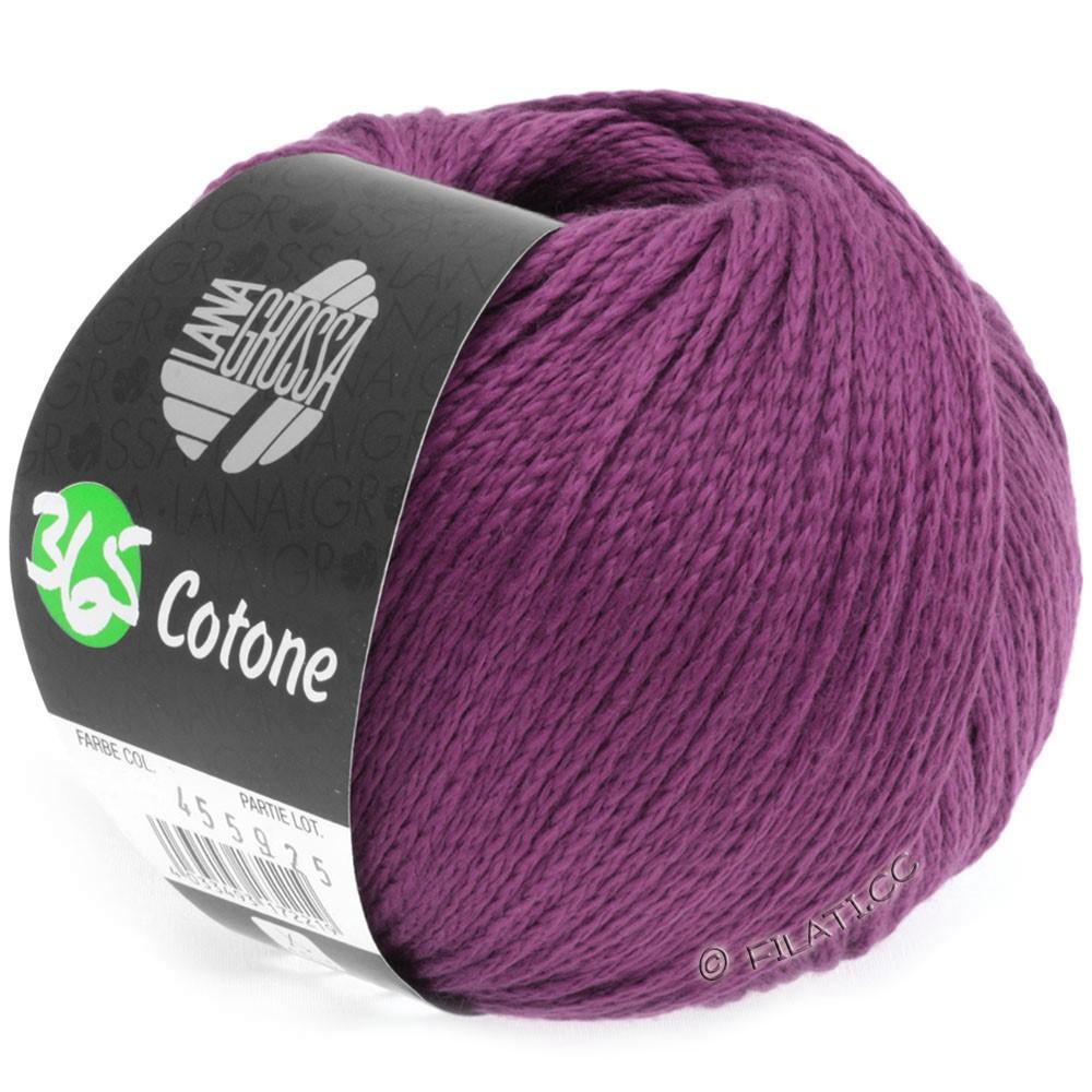Lana Grossa 365 COTONE | 12-violet rouge