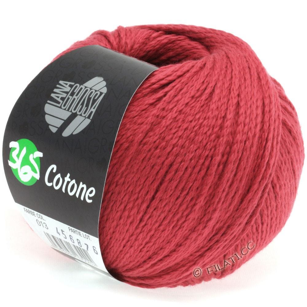 Lana Grossa 365 COTONE | 13-rouge