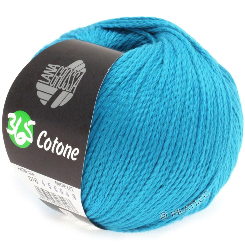 Lana Grossa 365 COTONE | 16-bleu