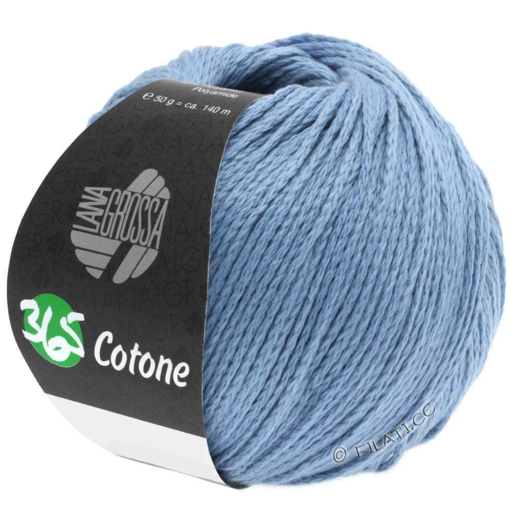 Lana Grossa 365 COTONE | 35-bleu gris