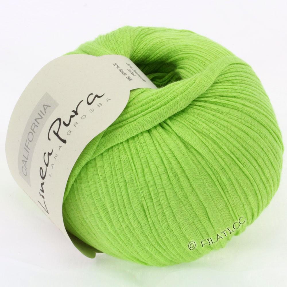 Lana Grossa CALIFORNIA Uni/Print (Linea Pura) | 002-vert clair