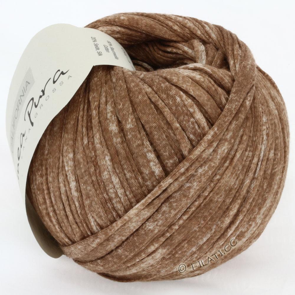 Lana Grossa CALIFORNIA Uni/Print (Linea Pura) | 203-brun chiné