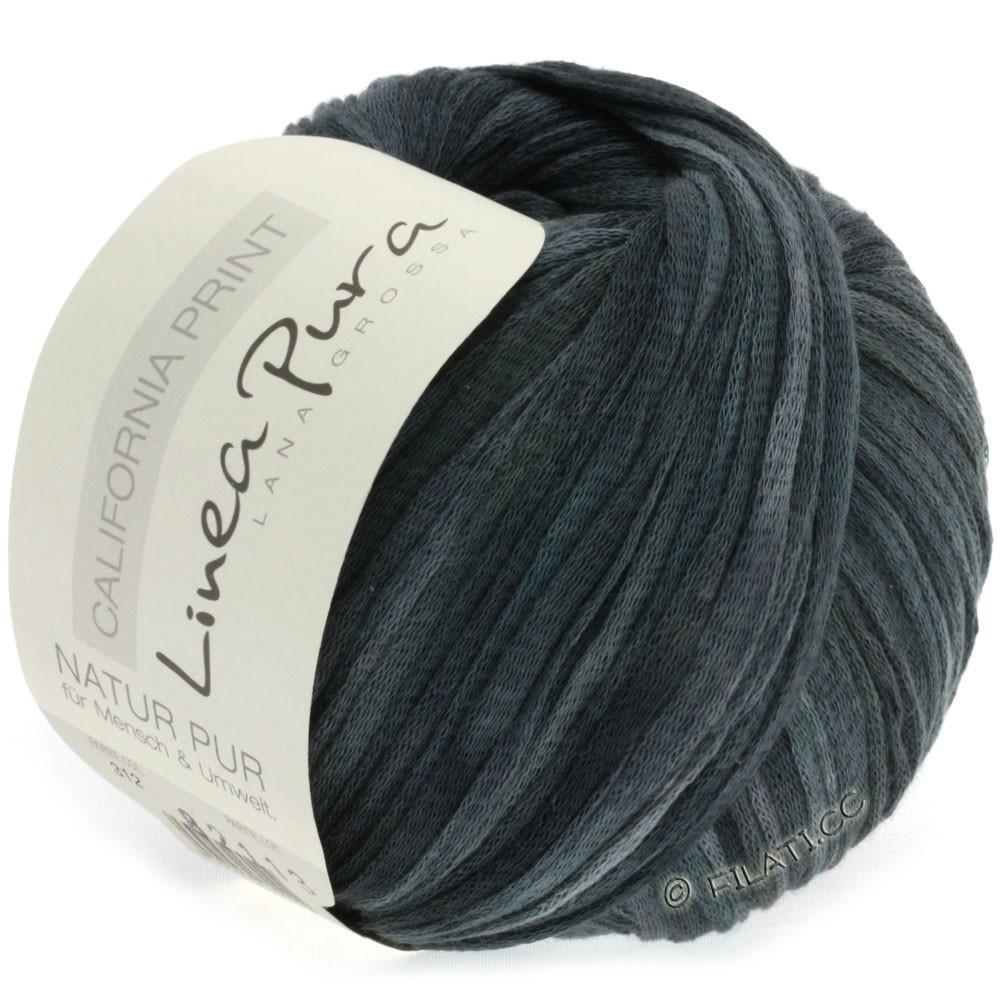 Lana Grossa CALIFORNIA Uni/Print (Linea Pura) | 312-gris clair/gris foncé/noir