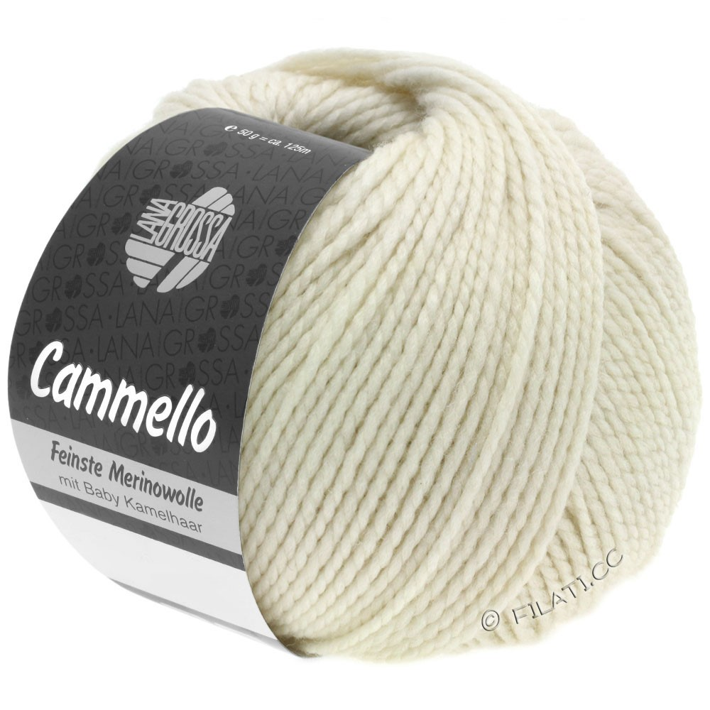 Lana Grossa CAMMELLO   01-blanc