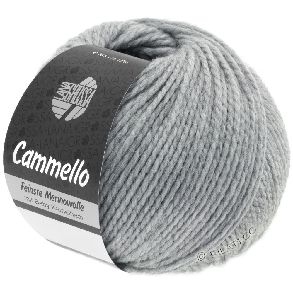 Lana Grossa CAMMELLO   02-gris nacré
