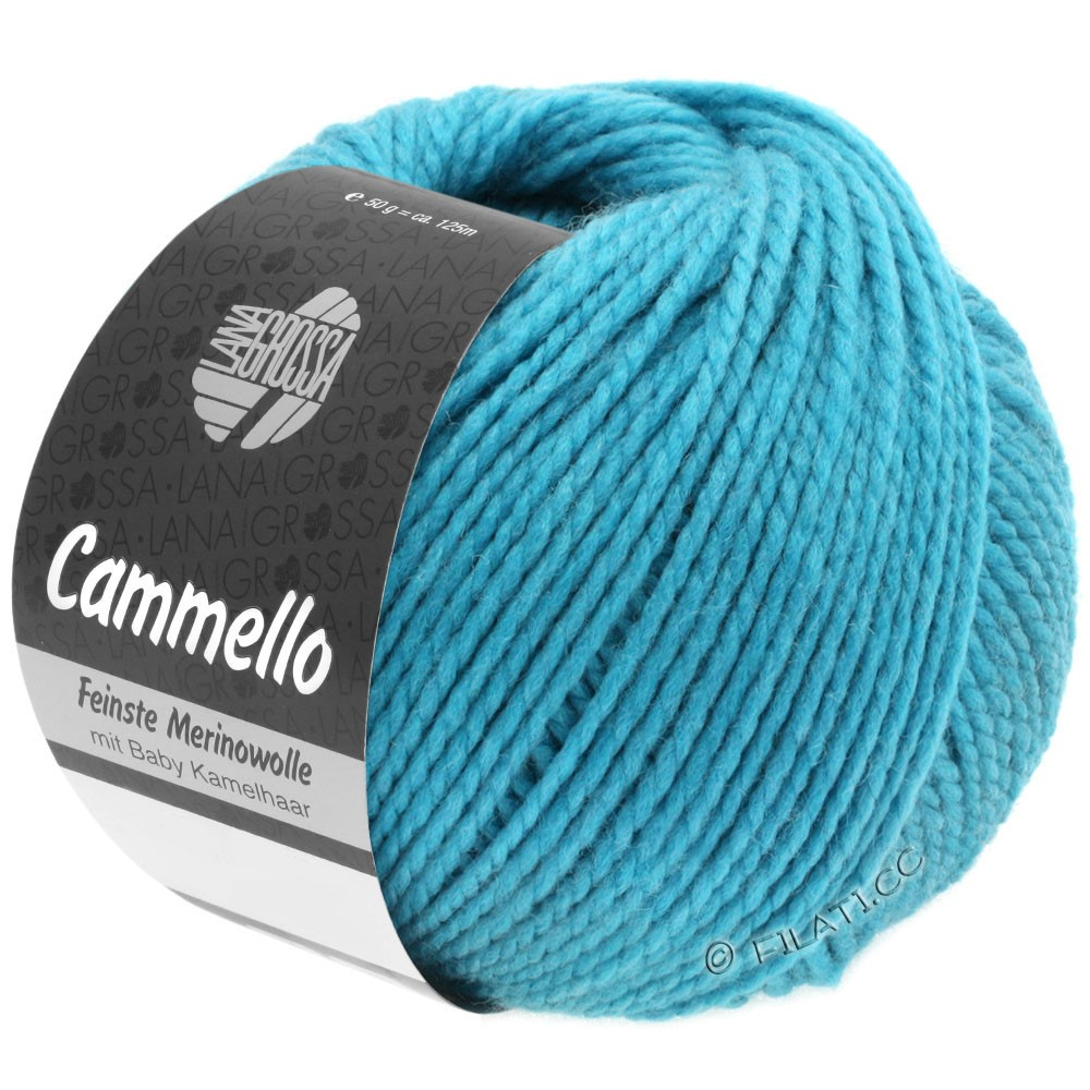 Lana Grossa CAMMELLO   13-turquoise