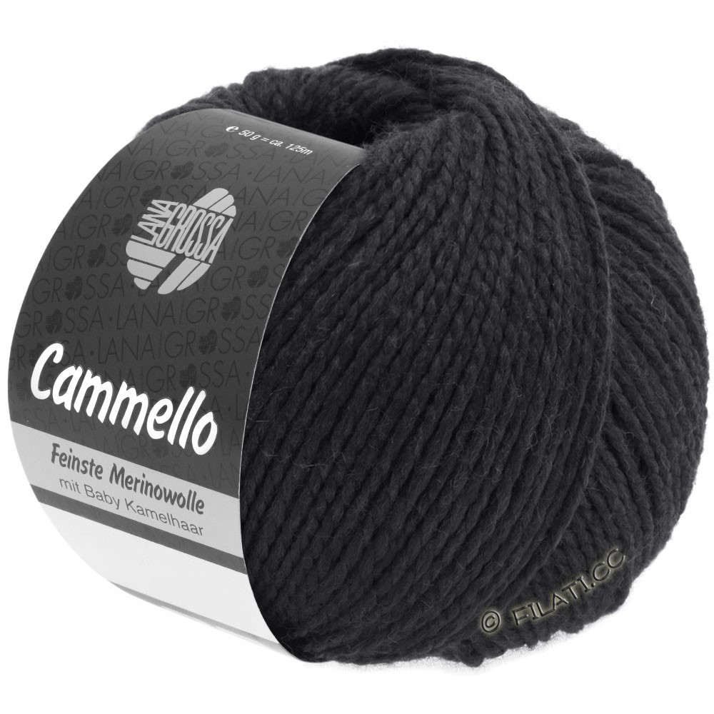 Lana Grossa CAMMELLO   16-noir