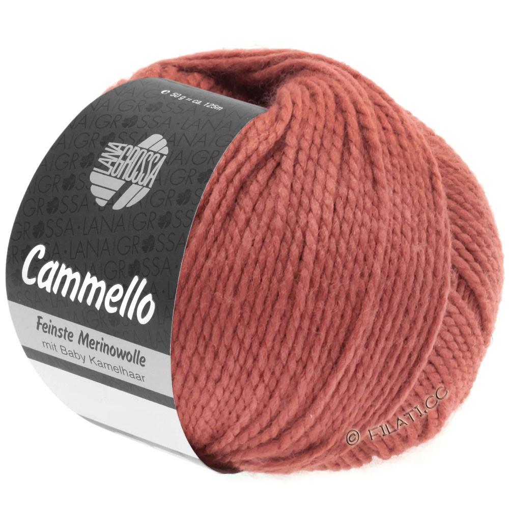 Lana Grossa CAMMELLO | 17-rouge comme l'argile brûlée