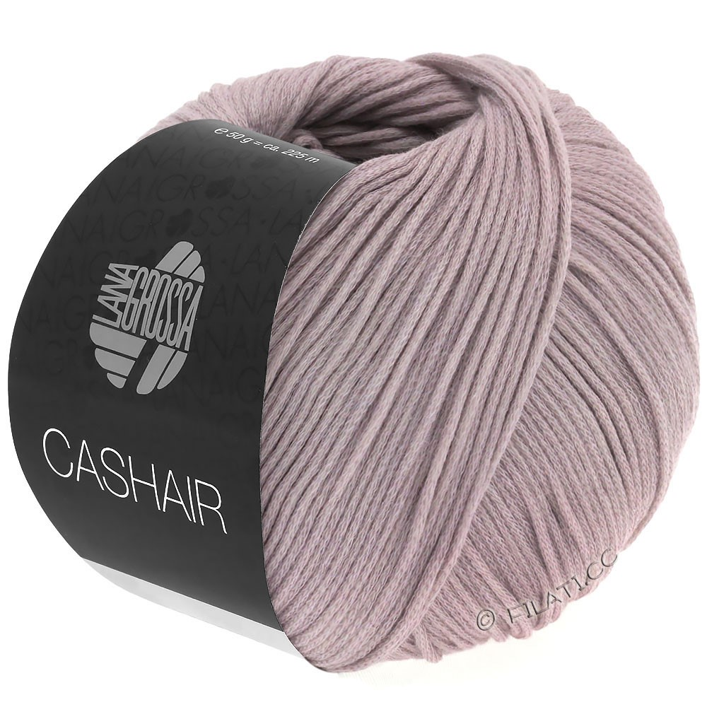 Lana Grossa CASHAIR | 12-gris pourpre