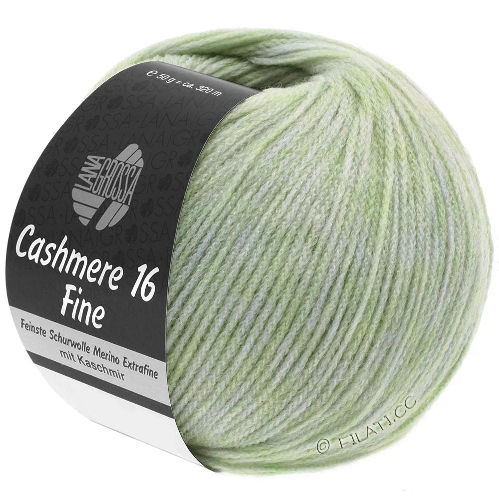 Lana Grossa CASHMERE 16 FINE Uni/Degradé | 002-vert pâle