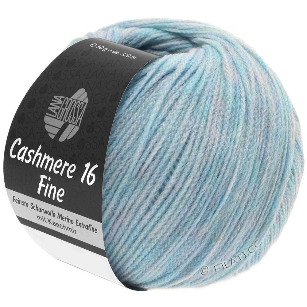 Lana Grossa CASHMERE 16 FINE Uni/Degradé | 003-bleu clair