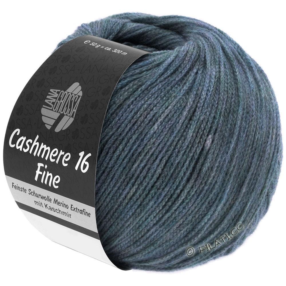 Lana Grossa CASHMERE 16 FINE Uni/Degradé | 005-bleu gris
