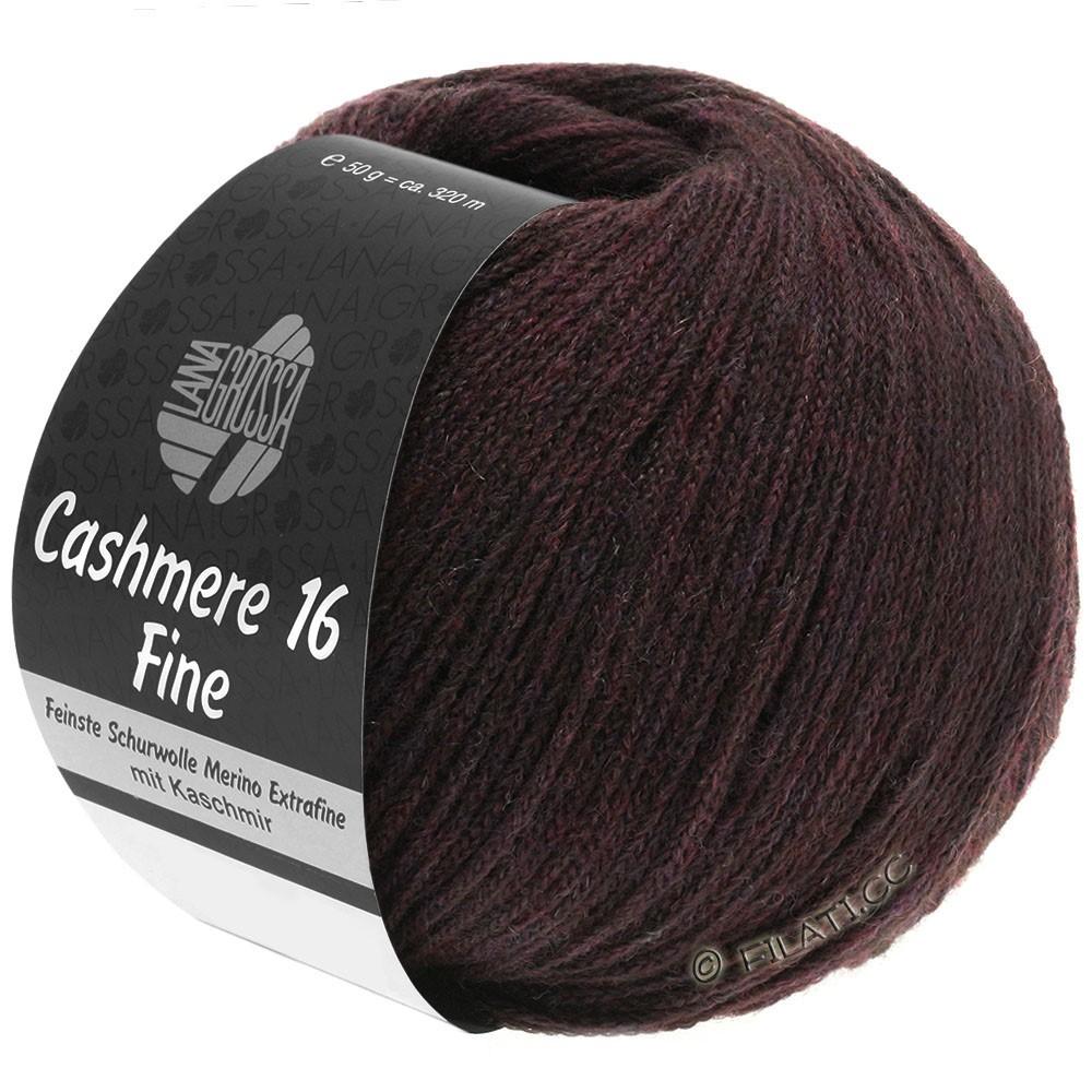 Lana Grossa CASHMERE 16 FINE Uni/Degradé | 010-brun rouge