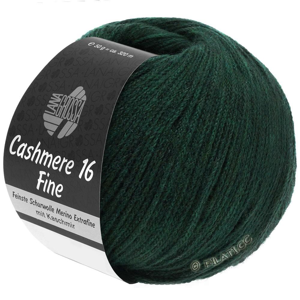 Lana Grossa CASHMERE 16 FINE Uni/Degradé | 014-vert noir