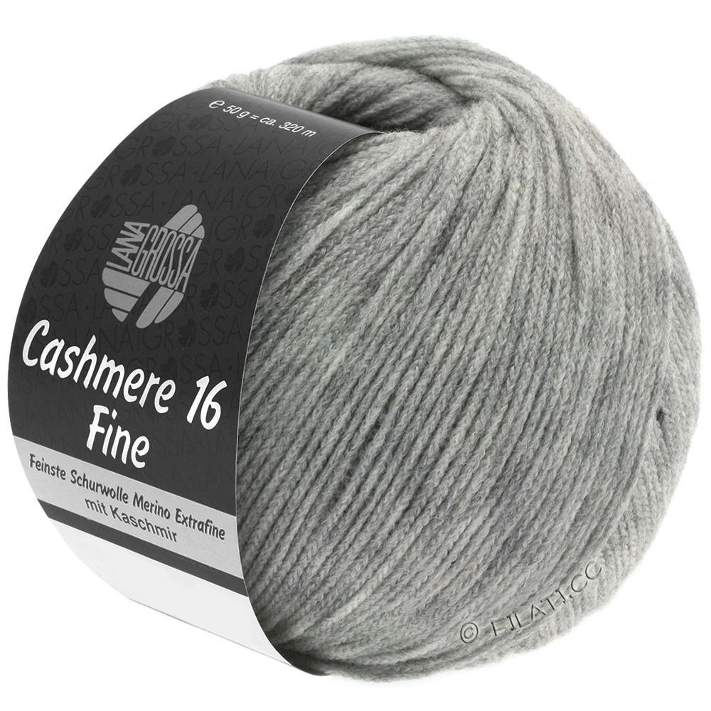 Lana Grossa CASHMERE 16 FINE Uni/Degradé | 015-gris clair