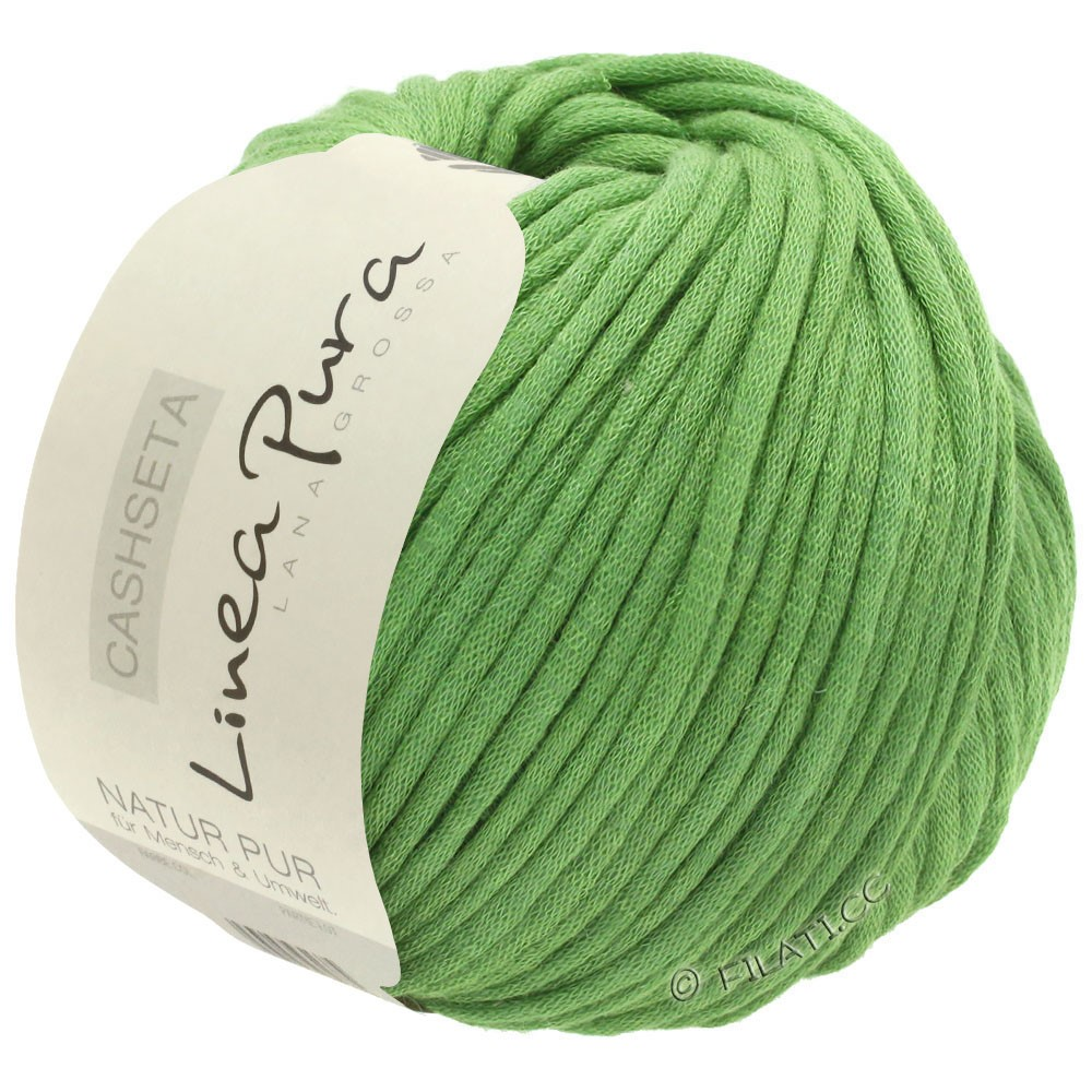Lana Grossa CASHSETA (Linea Pura) | 01-vert clair