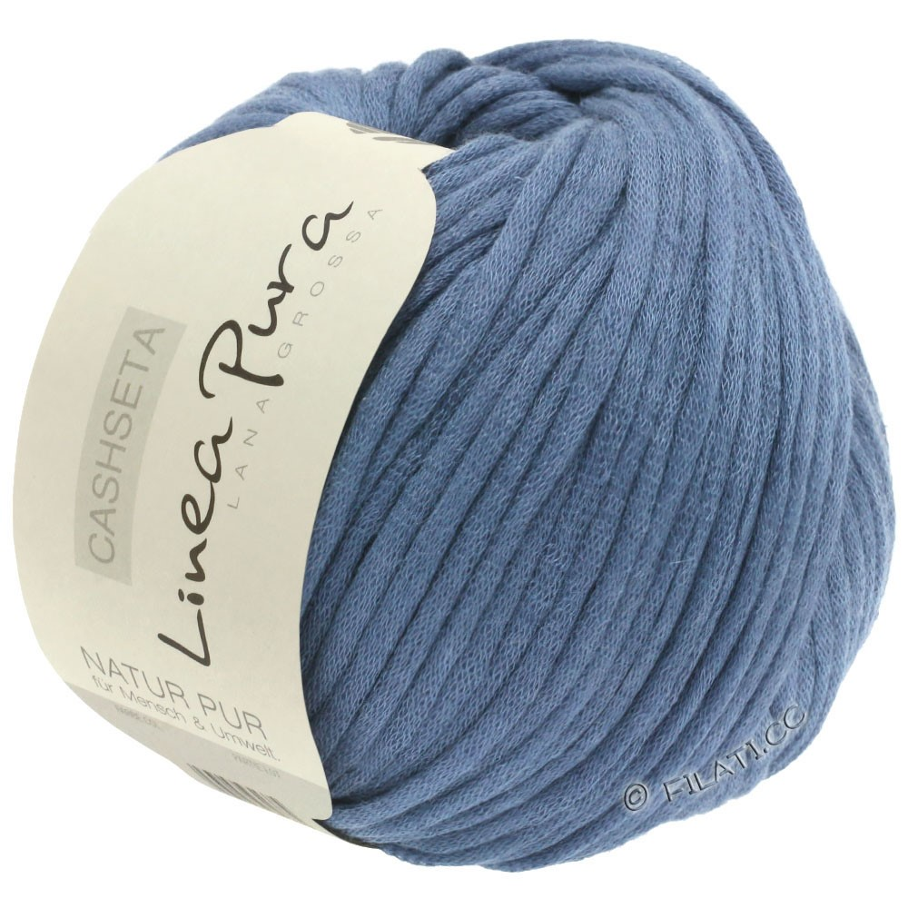 Lana Grossa CASHSETA (Linea Pura) | 11-bleu jean